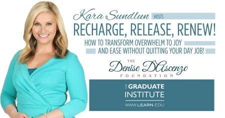 Kara Sundlun Hosts Recharge, Release, Renew