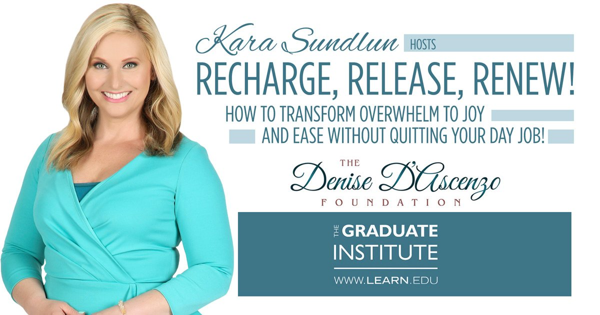 Kara Sundlun Hosts Recharge, Release, Renew