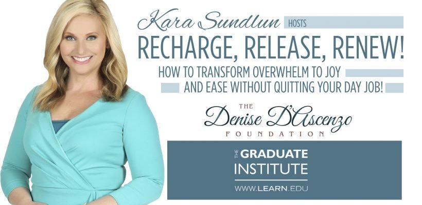 Transform your 'Daily Grind' into a 'Sacred Grind' with Kara & Doreen, the Holistic Nurse