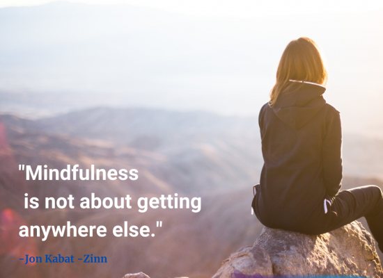 Mindfulness Meditation Class is offered weekly for the TGI community.