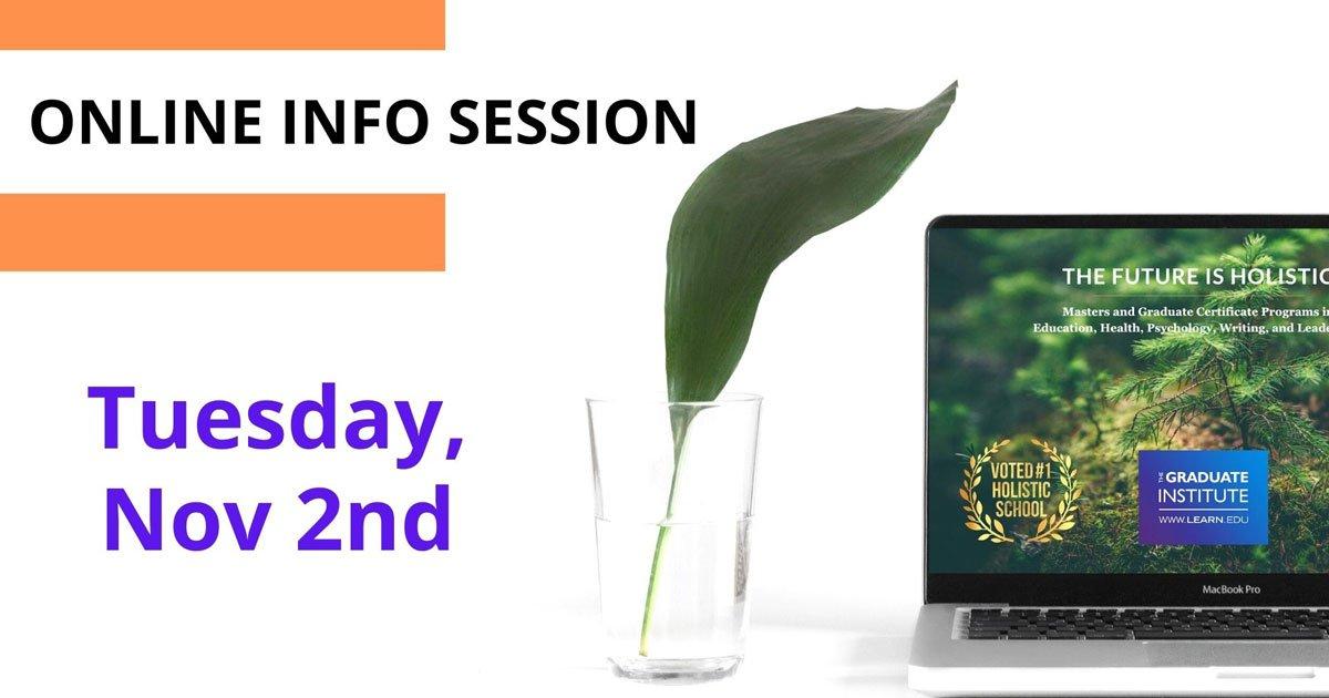 Online Info Session Nov 2nd